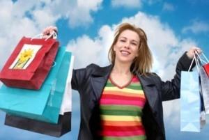 آمارهای بسیار جالب از میزان خرید کردن خانمها