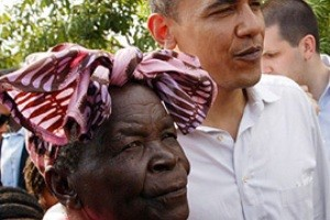 مادر بزرگ اوباما قربانی کشته شدن بن لادن