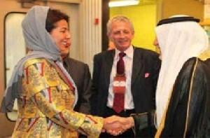 تعجب دختر ملک عبدالله از جدایی دختران و پسران در جامعه عربستان