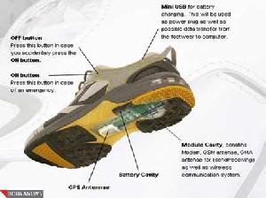 با پوشیدن این کفش ها هرگز گم نمی شوید !!
