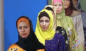رقابت مانكن های ایرانی و عرب در فشن اسلامی