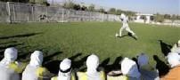 حضور بانوان در استادیوم فوتبال کرمان