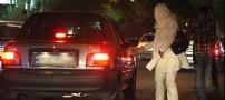 نقش زنان خیابانی در افزایش ترافیک شهر تهران