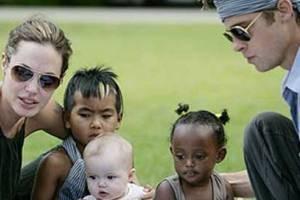 بازی برد پیت و آنجلینا جولی با نظر فرزندانشان در فیلم ها