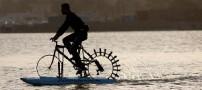 دوچرخه سواری بر روی آب برای ایرانی ها
