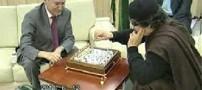 بازی شطرنج قذافی در عمق زمین