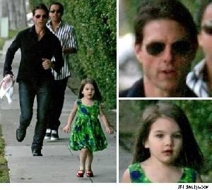 عکس هایی بسیار زیبا و دیدنی از دختر تام کروز
