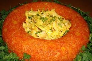 طرز تهیه استامبولی پلوی قالبی