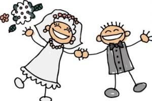 عکس هایی از مراسم ازدواج ترسناک یک دختر و پسر