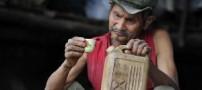 این مرد 72 ساله گازوییل می خورد