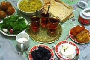 خوراکیهای مناسب مخصوص سحر و افطار
