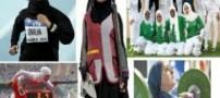 عریان شدن خانمی در اعتراض به حجاب المپیک !