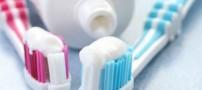 مواد خطرناک موجود در خمیر دندان ها