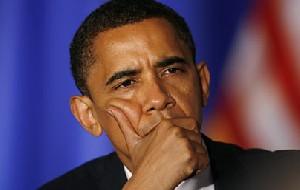 جوگیر شدن اوباما در گرفتن عکس یادگاری! (+عکس)