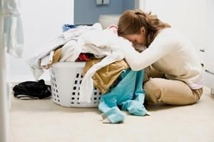 اشتباهات هنگام استفاده از ماشین لباسشویی