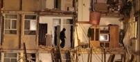 مرگ خانم  63 ساله و 2 کودک در آوار ساختمان