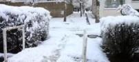 احتمال یخزدگی معابر عمومی از صبح یکشنبه