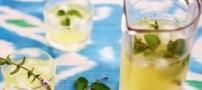طرز تهیه لیموناد نعنایی