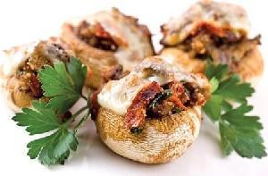 انواع غذا های خوشمزه با قارچ