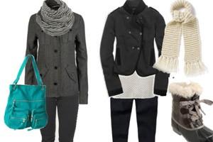 پوشش مناسب در زمستان