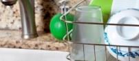 نکاتی برای از بین بردن زردی لیوان ها