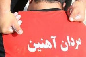 حمله با شمشیر به یکی دیگر از قویترین مردان ایران