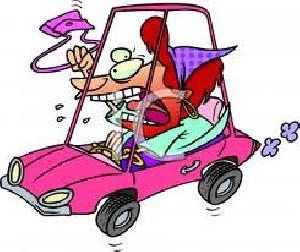پرسش هایی در مورد رانندگی خانم ها (طنز باحال)