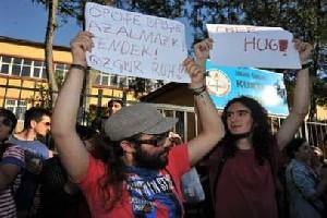 جدید و عجیب ترین نوع اعتراض جنسی در کشور ترکیه!