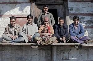 زندگی عجیب و جالب این زن با پنج شوهر خود! (عکس)