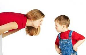 در هنگام برخورد با فرزندتان آرامشتان را حفظ کنید