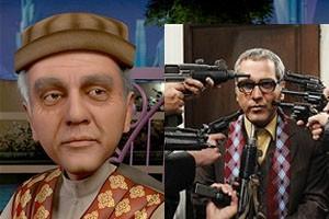 دو عکس متفاوت و جدید از چهره ی مهران مدیری