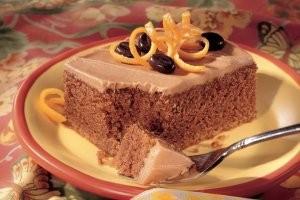 طرز تهیه کیک پرتقالی با کاپوچینو