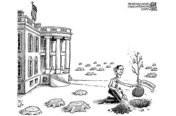 كاریكاتوری از اوباما