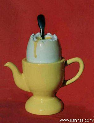 عکسهای قوریهای چای با اشکال جالب
