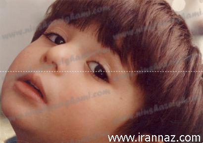 عکسی از دوران کودکی نیوشا ضیغمی