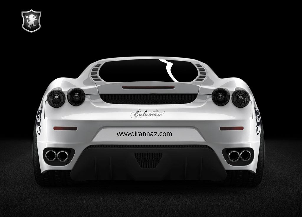 تصاویری زیبا از خودروی جدید فراری Ferrari F430
