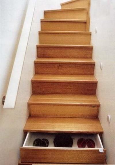 استفاده بهینه از فضای راه پله ها