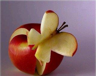 عکسهای مجسمه سازی با میوه ها
