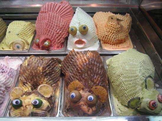 عکس هایی از جالب ترین بستنی های دنیا