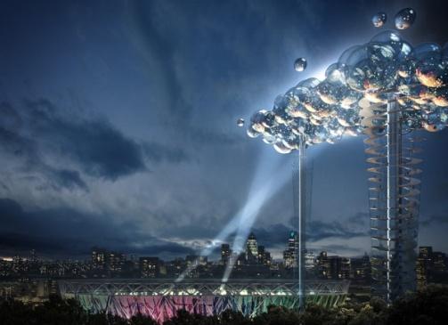گوگل در المپیک لندن بر روی ابرها مینویسد!!!