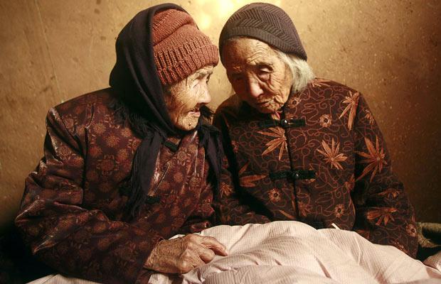 پیرترین دوقلوهای جهان! (+ عکس)