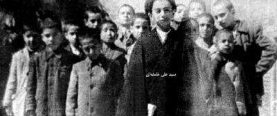 عکسی از ده سالگی رهبرانقلاب
