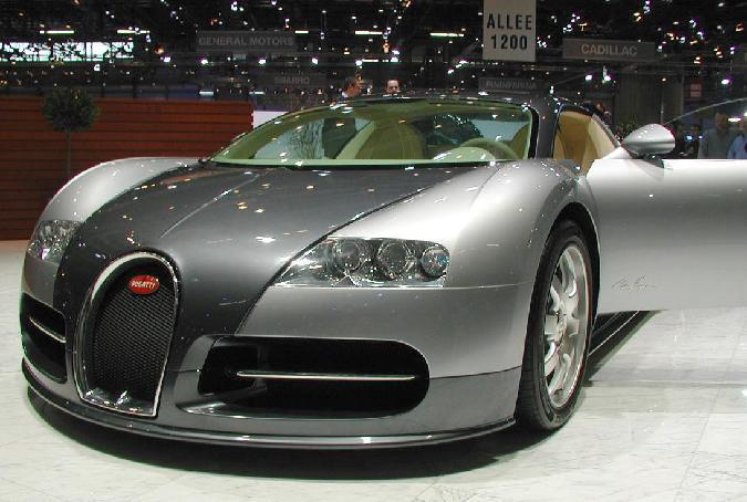 عكس ها و مشخصات ماشین زیبای بوگاتی