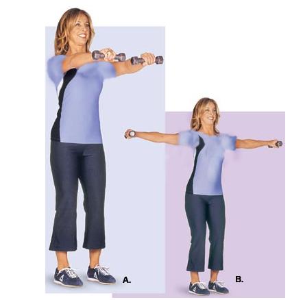 حرکاتی برای داشتن بازوها و شانه هایی زیبا