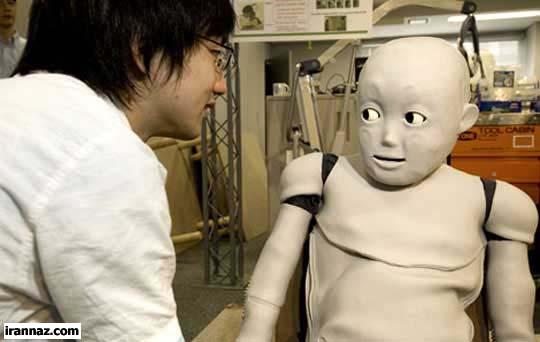 تولد کودک روباتیکی با توانایی یادگیری