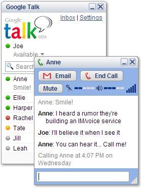 پیام رسان گوگل Google Talk 1.0.0.104