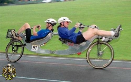 عكسهایی از عجیب و غریب ترین دوچرخه ها