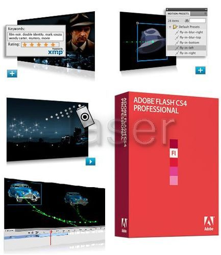 Adobe Flash CS4 Professional