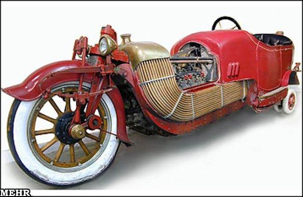 عكسهایی از عجیب ترین خودروهای تاریخ!