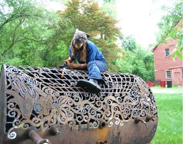 عکسهایی از هنر آهنگری